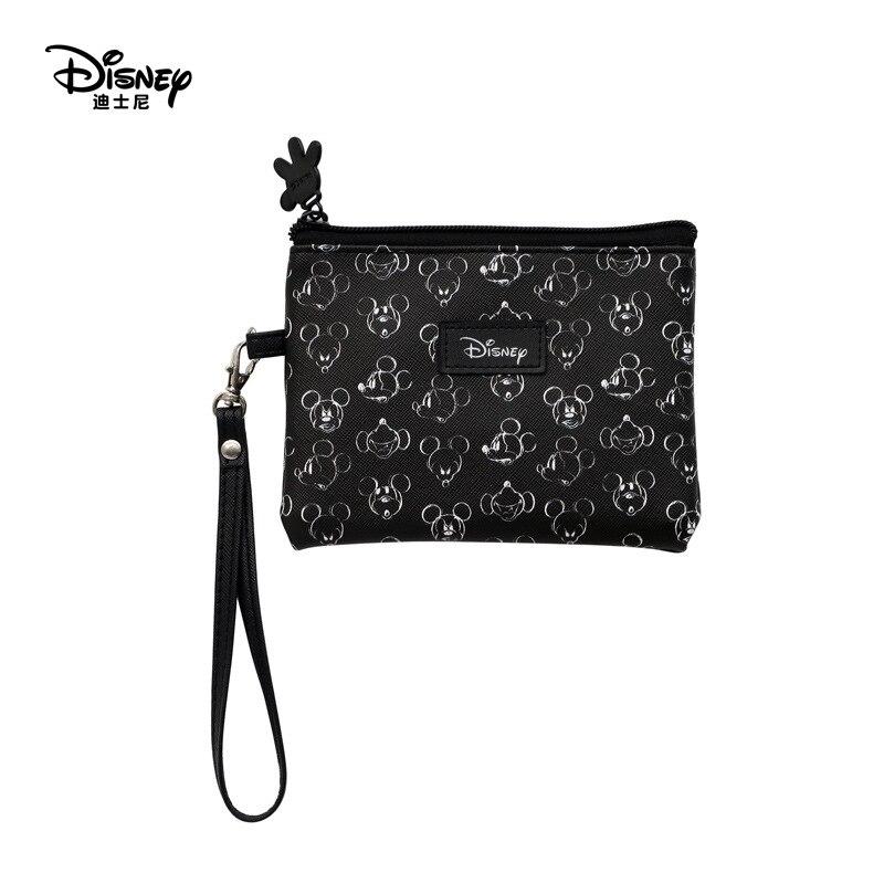 Cartera multifunción serie pintada a mano estilo clásico Mickey de Disney, monedero, bolsa para cuidado del bebé, mamá
