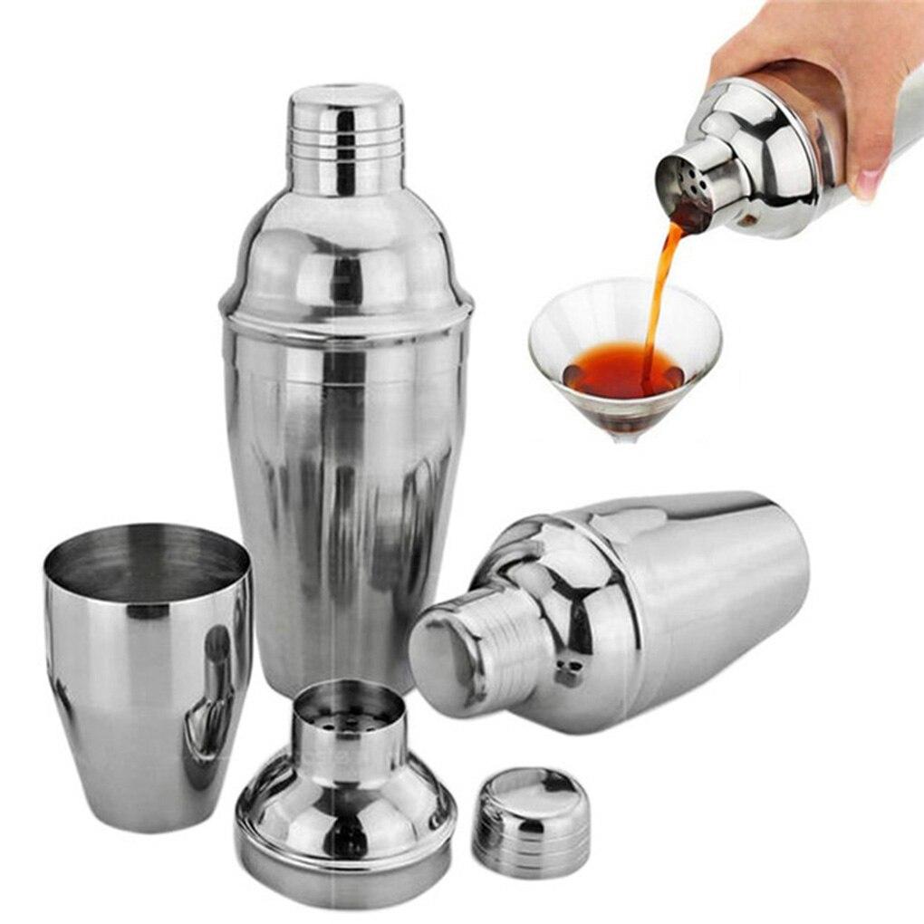 De acero inoxidable coctelera para cóctel mezclador de vino beber Shaker fiesta Bar herramienta