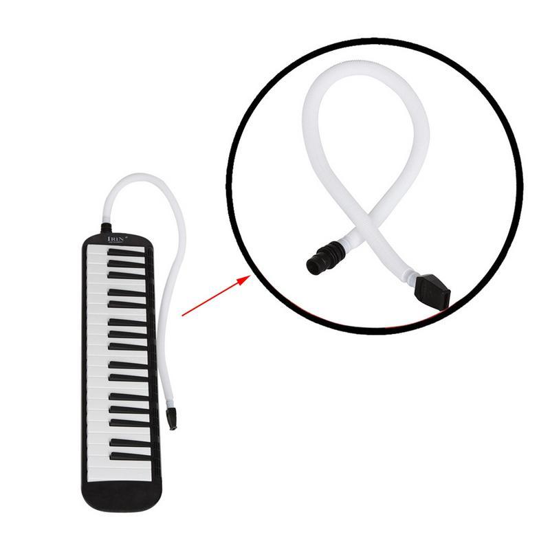 Tubo largo melódica profesional melódica tubo largo + tubo corto longitud plástico Flexible melódica Pianica tubo
