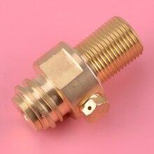 M18x1.5 laiton tir Paintball entrée filetage réservoir fabricant adaptateur recharge CO2 broche Valve pièces de rechange ajustement pour flux de soude