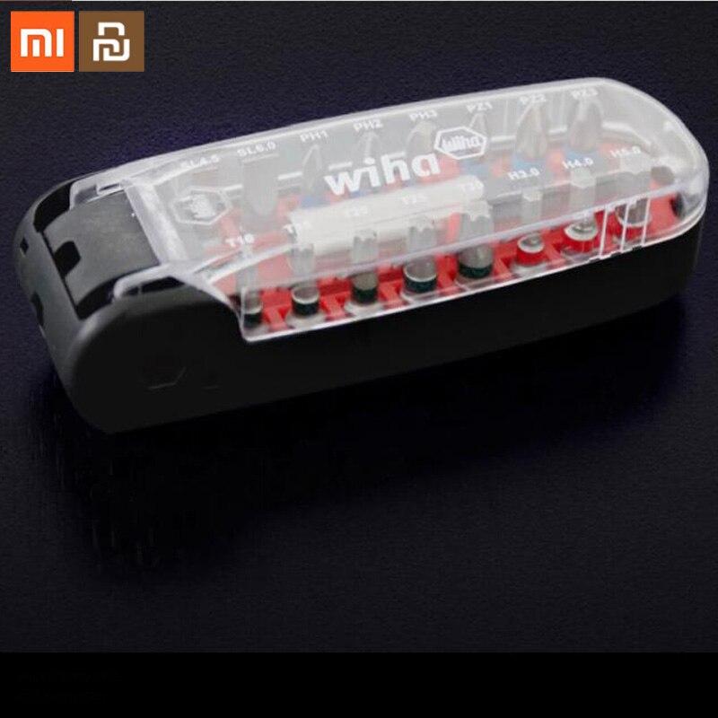 Destornillador Xiaomi Mijia Wiha, juego de 17 en 1, accesorio de reparación para el hogar, destornillador oculto, cabeza de wiha para cambiar de Chal y de segundos