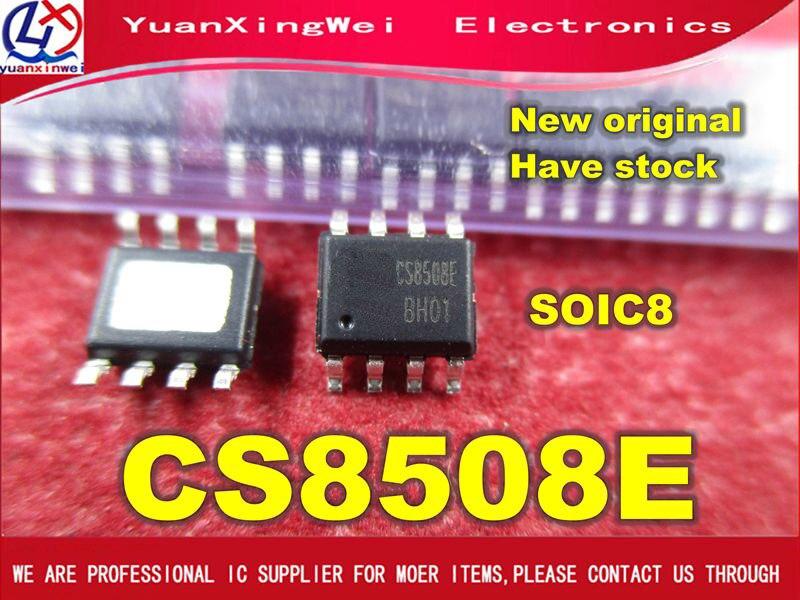 Envío Gratis 20 unids/lote CS8508E CS8508 8W amplificador de audio IC chip SOP8 parche original auténtico