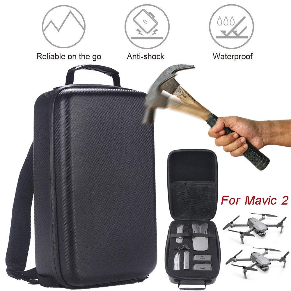 Bolsa de transporte portátil para DJI Mavic 2 Pro/Zoom Estuche de transporte mochila dura impermeable Anti-choque bolsas de almacenamiento nuevo 715 #2