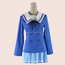 Kyokai no kanata Kuriyama Mirai COSPLAY School uniforms for women hollween party cos suit