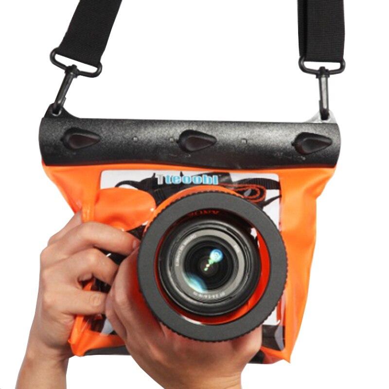 Подводный 20 м/65 футов чехол для камеры для дайвинга сумка для сухой камеры Водонепроницаемая сухая сумка для Canon Nikon Sony DSLR SLR GQ-518M