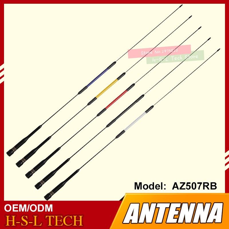 Беспроводной автомобильная антенна VHF/UHF 144/430 МГц с высоким коэффициентом усиления двухдиапазонная антенна двухстороннее радио антенна авт...