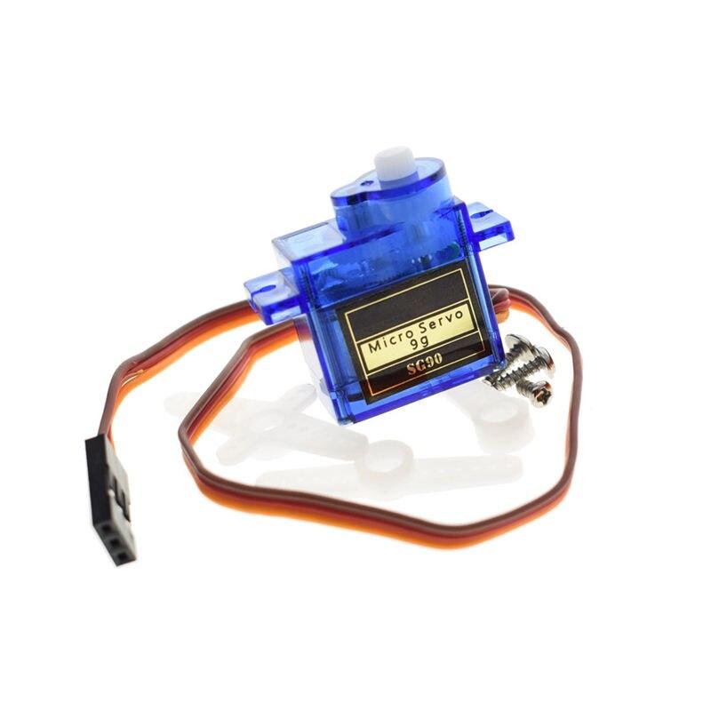 Electrónica Inteligente 1 Uds Rc Mini 9G 1,6Kg Servo Motor Sg90 para Rc 250 450 helicóptero avión coche barco