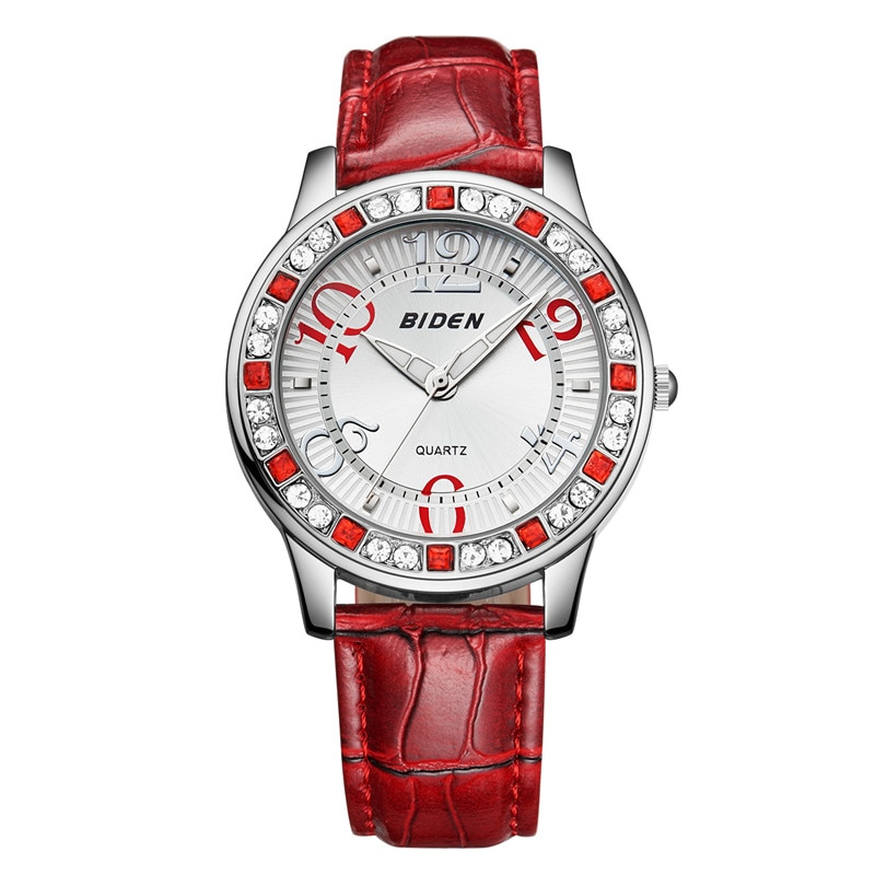 BlDEN Brands Women's Crystal Rhinestone Casual Dress Ladies Watch Crystal reloje mujer 2017 montre femme enlarge
