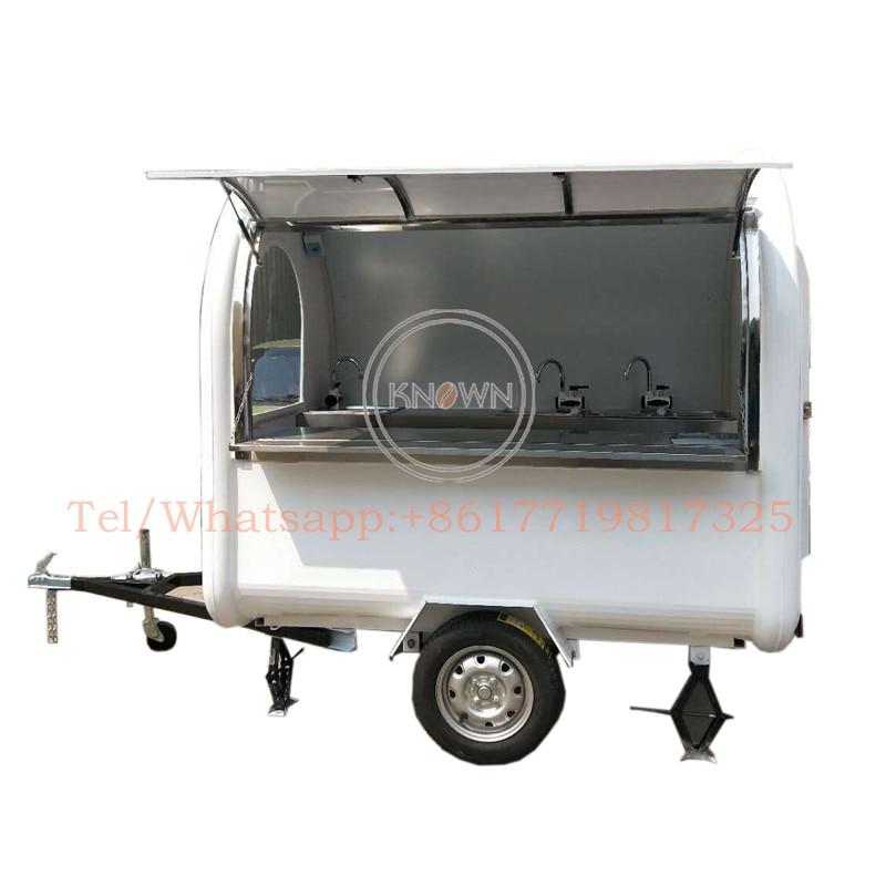 Gran oferta remolque de cocina móvil, camión de comida móvil, carro de comida móvil para restaurante