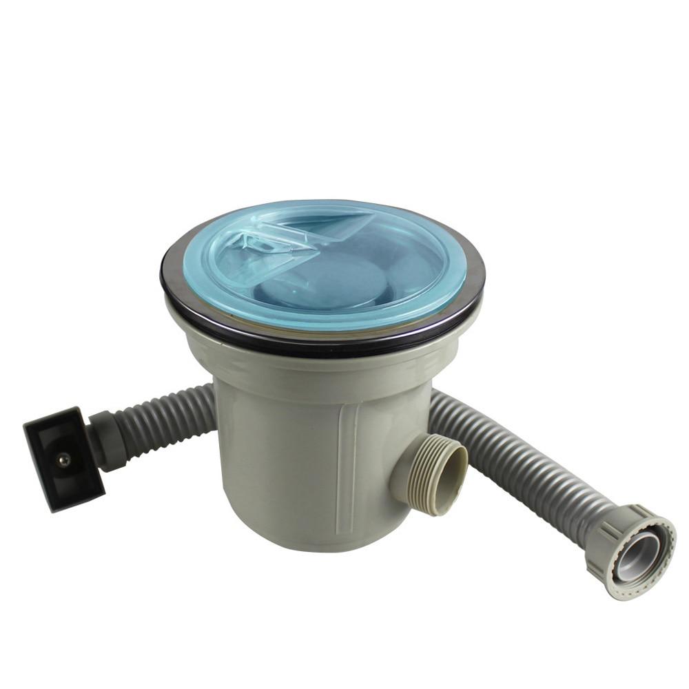 Talea-مصفاة تصريف للحوض ، مع مجموعة تصريف التدفق الزائد ، جهاز التخلص من الحوض ، ملحقات المطبخ