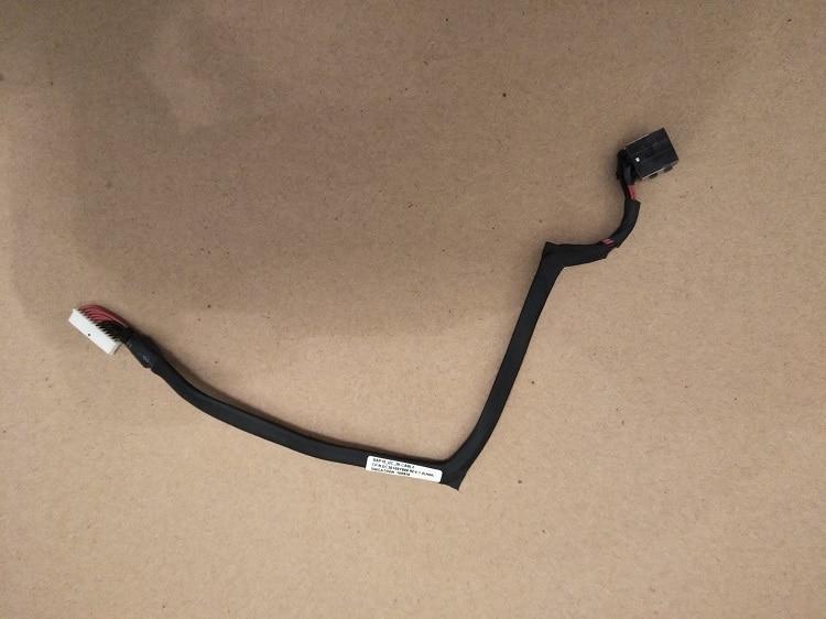 (1-10 uds) Nuevo conector de alimentación DC con Cable para Dell Alienware 15 R3 R4 ALW15 BAP10 P/n DC30100Y800 0WV4NR