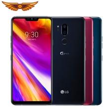 Original Unlocked LG G7 ThinQ 6.1 Inches Octa Core 4GB RAM 64GB ROM LTE 4G 16MP Dual Rear Camera 1440 x 3120 Android Smartphone
