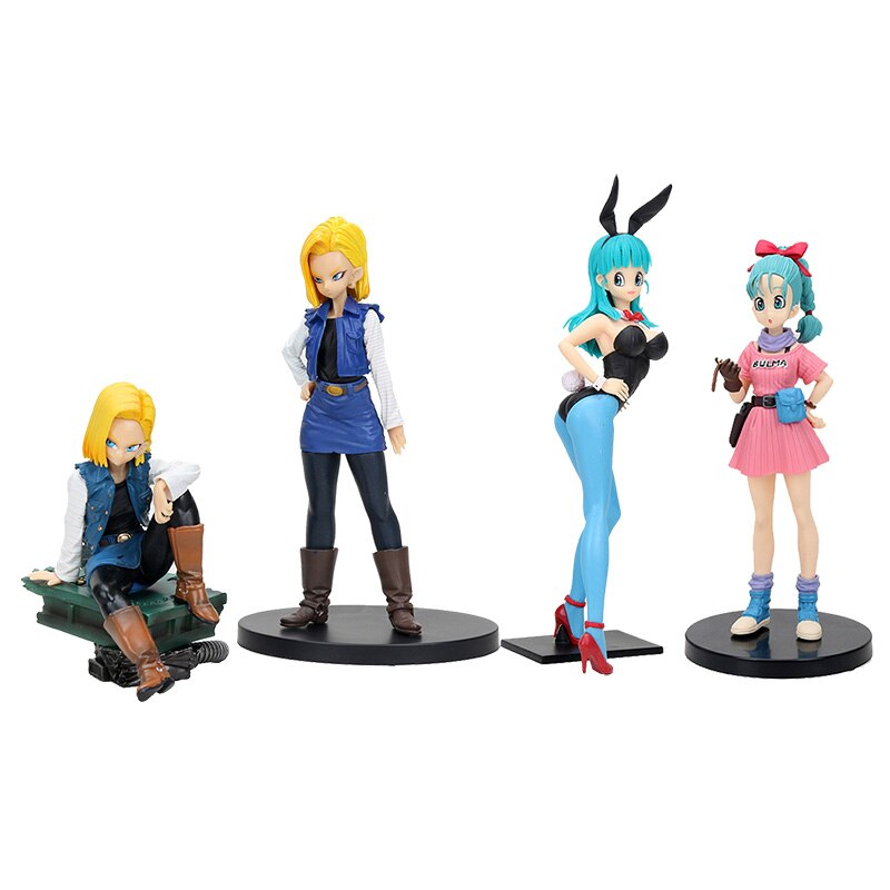 Dragon Ball Z tenkaichi budokai 3 lazuli 18# Bulma DXF Figure SCultures Big Action Figure Toys Brinquedos Anime