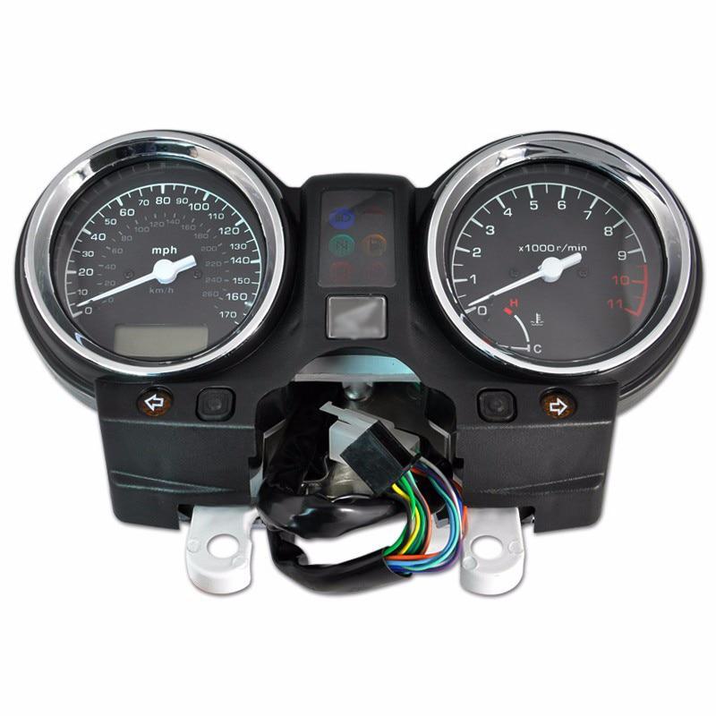مقاييس العنقودية عداد السرعة مقياس سرعة الدوران لهوندا CB900 الدبور 900 CB919F 2002-2007