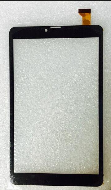 Envío Gratis pantalla táctil de 8 pulgadas, 100% nuevo para Digma Plane 8558 4G PS8172PL panel táctil, digitalizador de sensor de vidrio para tableta pc