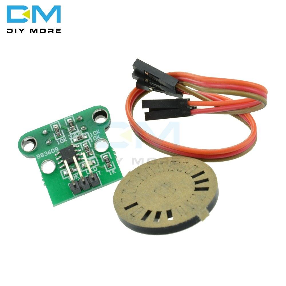 HC-020K Speed measuring sensor Module Photoelectric encoder 4.5-5.5V for motor output shaft w/ 4mm diameter