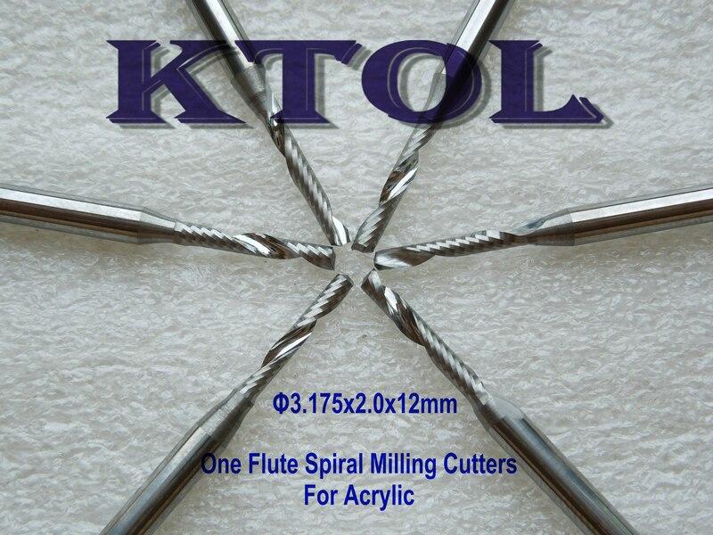 Alta clase 3.175x2,0x12mm flauta de corte de carburo sólido Router poco de corte de acrílico utensilios con cuchillas y brocas de rebajadora de CNC para madera