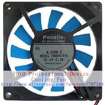 New Original NMB 8cm FBA08J14L 80x80x15MM DC14V 0.1A HWB  for Refrigerator cooling fan