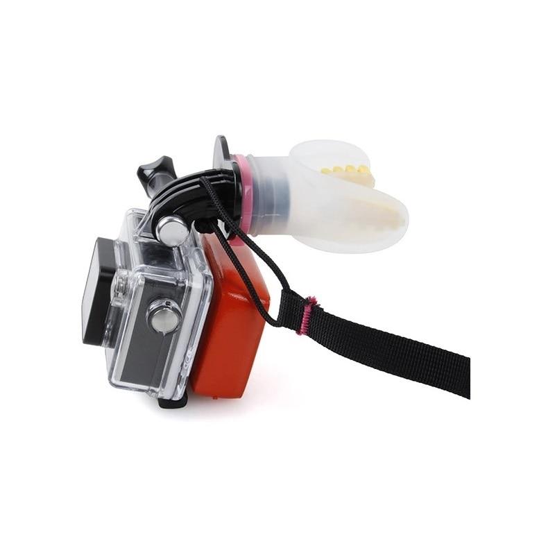 Soporte de ortodoncia para Surfing buceo submarino flotador de silicona para GoPro Hero 7/6/5/4/3/3 +/2/1/4 5 Sesión