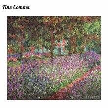 Peinture à lhuile sur toile abstraite   Toile, faite à la main, Le Jardin de lartiste de Giverny Le Jardin de lartiste a Giverny par Claude Monet