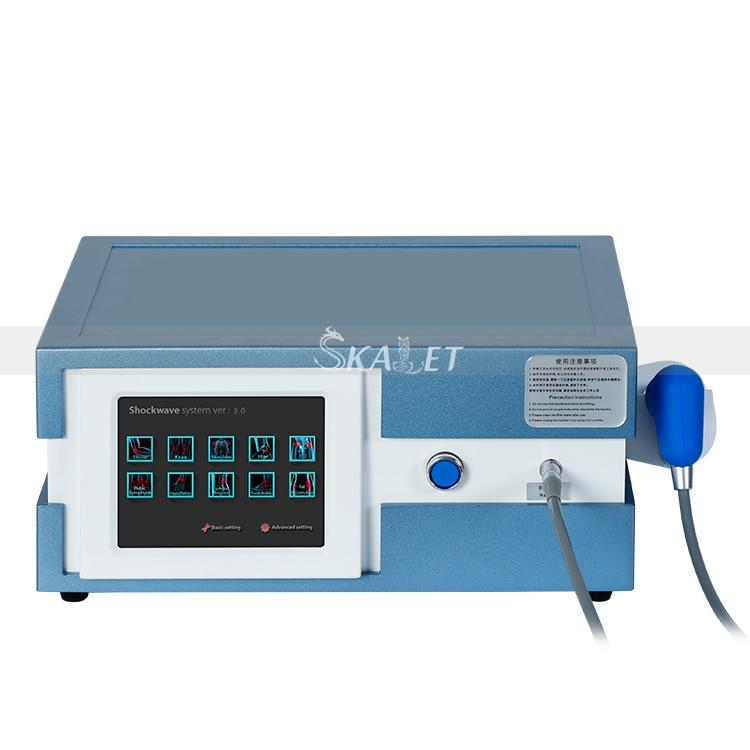 Aparato alemán importado ESWT ED máquina de terapia neumática de onda de choque para disfunción eréctil alivio del dolor