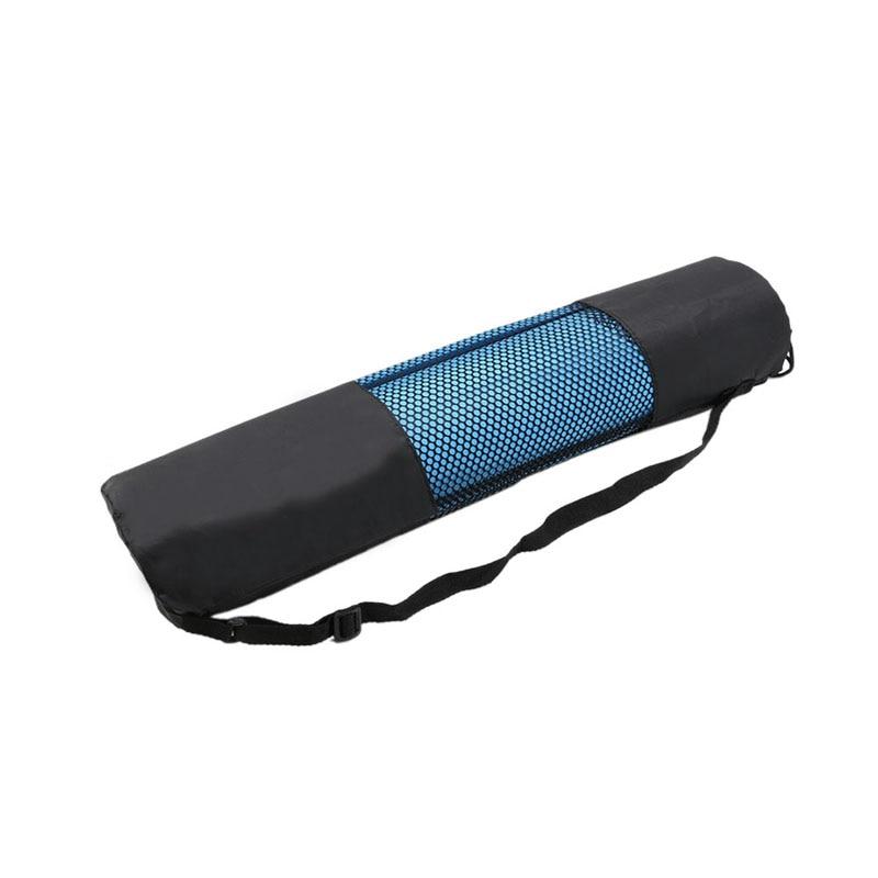 Wysokiej jakości nylonu yoga mat pilates przewoźnika torby siatki centrum regulowany pasek przypadku przenośne ramię torba brand new 2