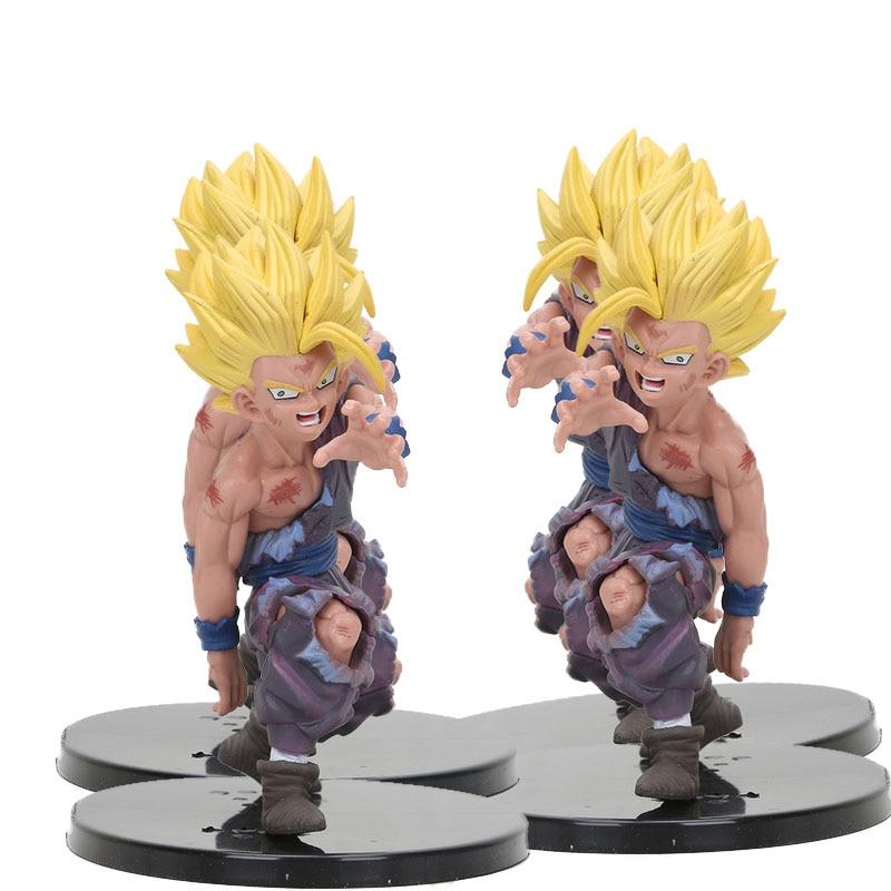 Фигурка Dragon Ball Z Super Saiyan Son Gohan Goku, статуэтка dragonball, плавки vegeta chichi lazuli, фигурка freeza, игрушки с ремешком для телефона