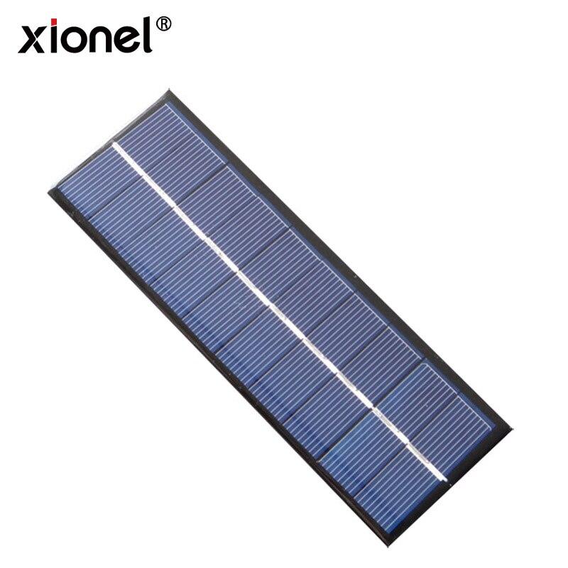 Xionel 1.3 W Mini Painel Solar 5 V 260mA 163*60*3 MM