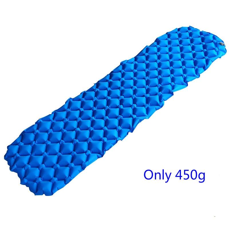 Portable Inflatable TPU Air Sleeping Pad Mat Mattress Cushion for Outdoor Camping Hiking Backpacking Travel недорого