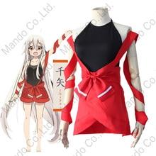 Anime Urara Meirocho Chiya Cosplay Costumes filles mignon uniforme robe femmes Halloween Cosplay fête tenue