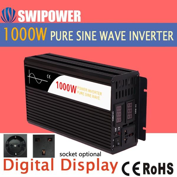 Onduleur à onde sinusoïdale pure 1000W   Onduleur électrique