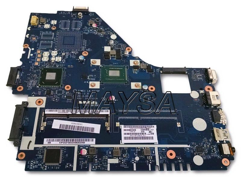 Z5WE1 LA-9535P NBMEQ11002 NB. MEQ11.002 carte mère dordinateur portable Adapté Pour Acer aspire E1-530 HM70 Pentium 2117U SR0VQ DDR3