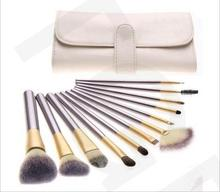 20 ensembles/lot haute qualité 12/18/24 pièces poudre fond de teint pinceaux de maquillage ensemble cosmétique réel maquillage outils blush avec sac