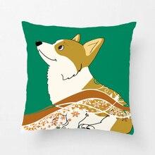 Shiba-housses de coussin en forme de Doge   Housses décoratives de coussin pour chambre à coucher, taie doreiller, cadeau parfait pour siège de canapé