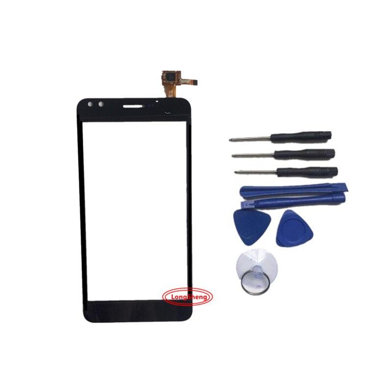 "Pantalla táctil de 5 ""para Prestigio Muze C3 PSP3504Duo PSP3504 digitizer panel sensor de lente de vidrio de envío gratis"