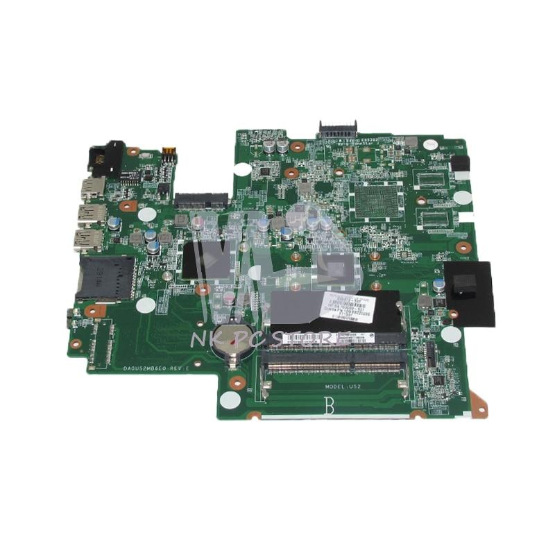 NOKOTION 699812-501 699812-001 Para HP Pavilion Sleekbook 14 DA0U52MB6E0 14-B PC Motherboard DDR3 com processador onboard