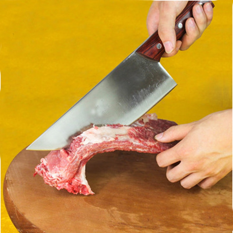 Nuevo, envío gratis, cuchillo de Chef de cerdo de alta calidad, cuchillo de carnicero profesional, cuchillo para matar peces
