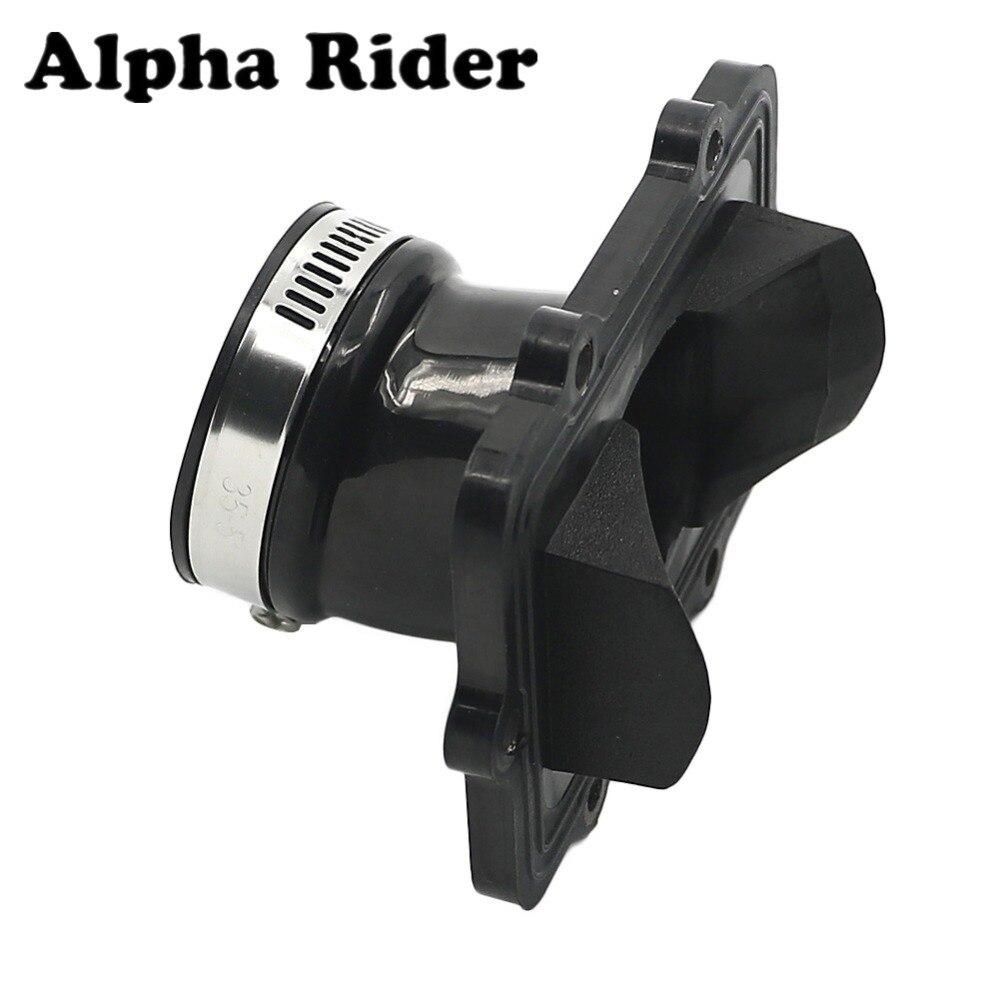 #420867300 snowmobile carburador flange socket boot para ski-doo mxz 550x 2006 2007 2008 2009