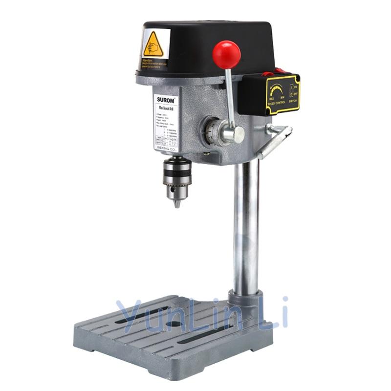 340W Electric Bench Drilling Machine Circuit Board /PVC/ Thin Wood Drilling 0.6-6.5mm 220V Portable Drilling Machine GB-5158B