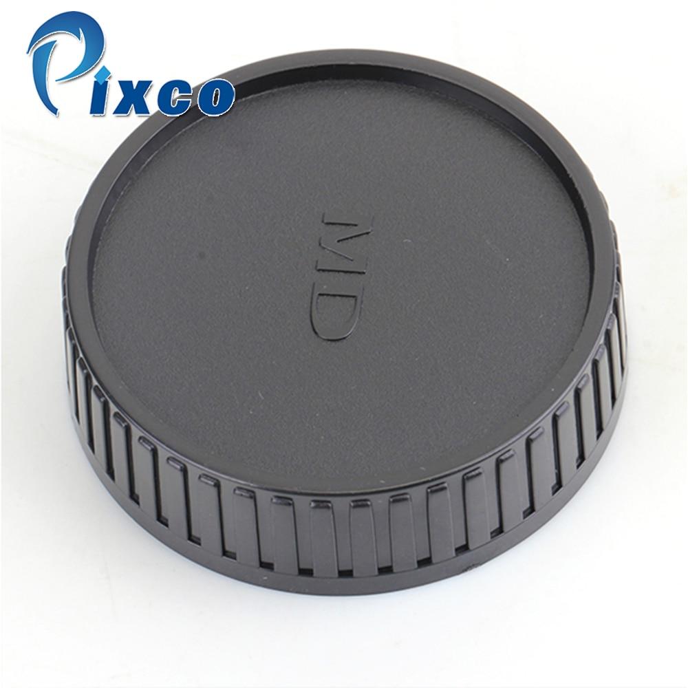 Protector de lente Pixco, tapa trasera, trabajo para Minolta MD, lente de montaje