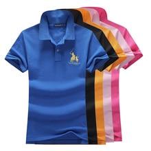 Women's polo shirts 100 % cotton polo shirts casual classic color shirts ladies polo shirts top cotton large  P023