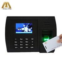 Standalone Time Recorder Fingerprint Recognition 125KHz TCP/IP Communication Webserver XM228 Biometric Clock Office Device