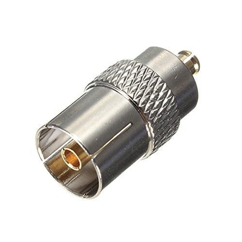 مقبس أنثى IEC DVB-T ، محول RF محوري ، قابس ذكر MCX ، 50 قطعة