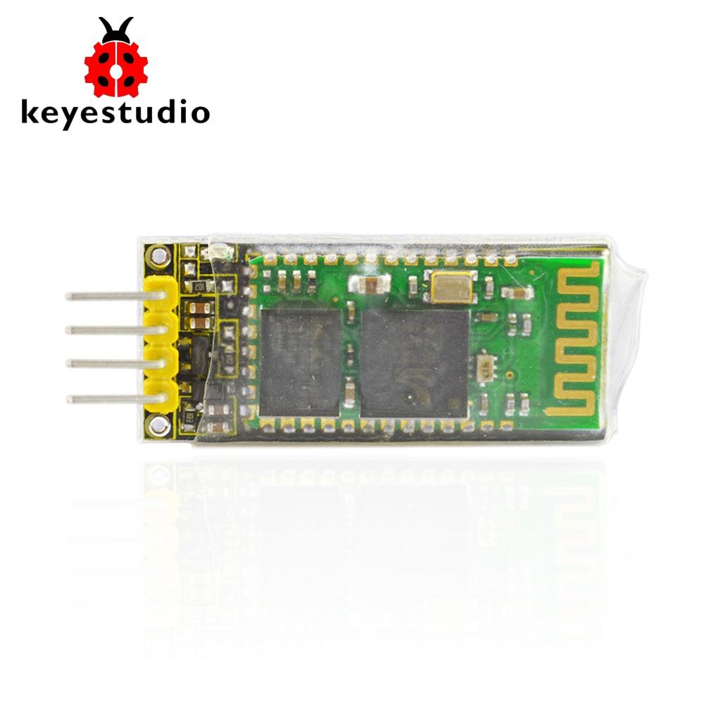 Keyestudio HC-06 inalámbrica Bluetooth 2,0 para Arduino UNO R3 Nano MEGA Raspberry Pi