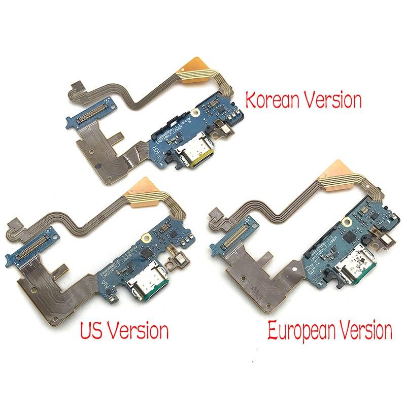 Nueva para LG G7 Thinq G710 Cargador Micro USB puerto de conector de carga de micrófono de piezas de recambio de Cable Flex