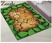 Zeegle Home Decor Carpet Rugs Non-slip Kitchen Mats 3D Carpet For Living Room Coffee Table Floor Rugs Absorbent Mats Bedroom