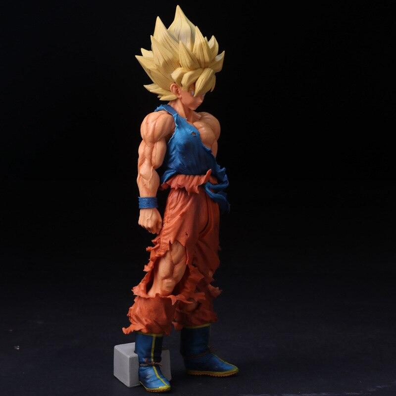 Figura de acción del Anime Dragon Ball Z, Super Master Stars Piece Son Goku de gran tamaño, 33CM, juguetes de modelos coleccionables en PVC, DBAF085