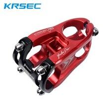 KRSEC ultralight 128g wspornik rowerowy 31.8mm MTB kierownica roweru górskiego macierzystych 28.6mm przed krótkim 50mm al-alloy CNC hollow DH/AM/XC