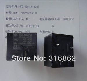 HF2160-1A-12DE HF2160 30A250VAC T91 10PCS/LOT 12V RELAY Free Shipping transistor diode module electronic Components kit
