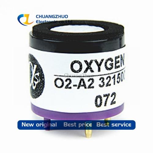 Sensor de oxígeno de 10 piezas O2-A2 O2A2 02-A2 02A2 Sensor de Gas sensor de oxígeno nuevo y original